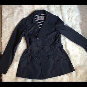 Sale $16 Blue island rain jacket